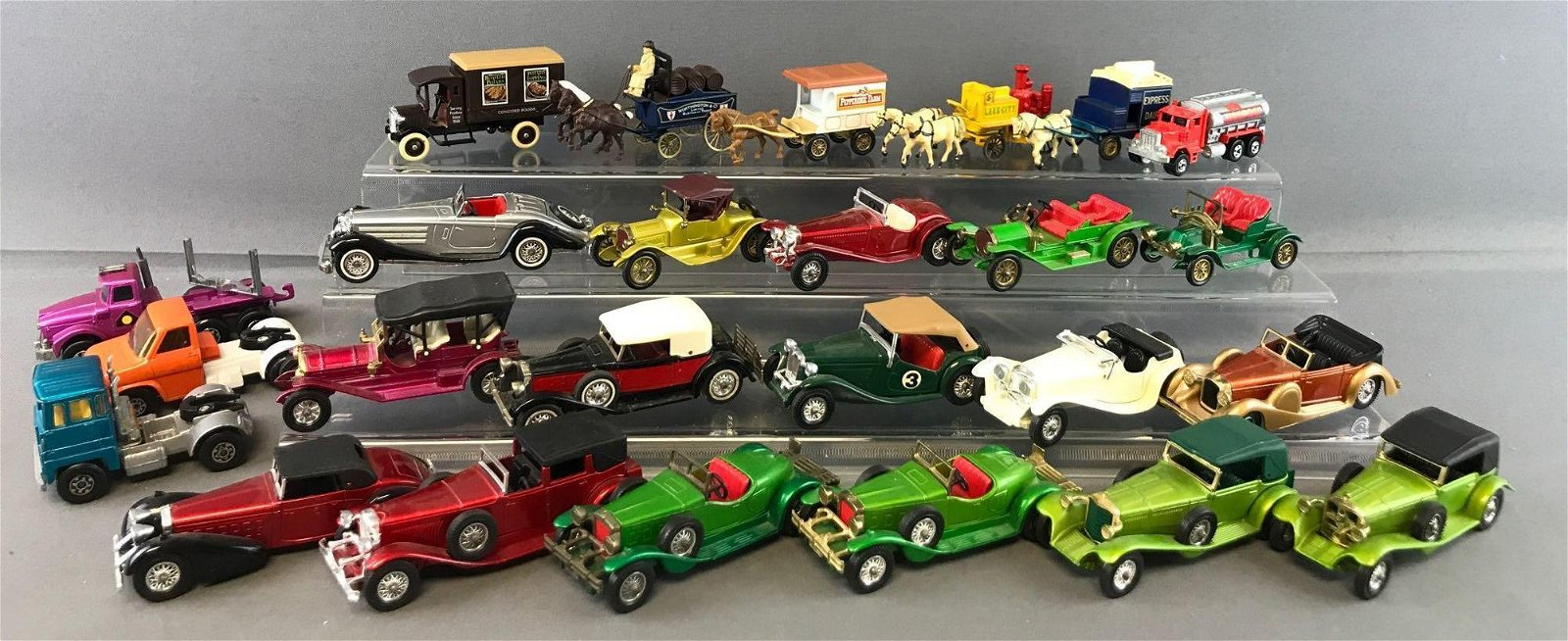 Group of 25 Assorted Die-Cast Vehicles