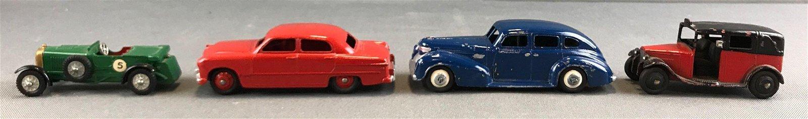 Group of 4 vintage die cast vehicles