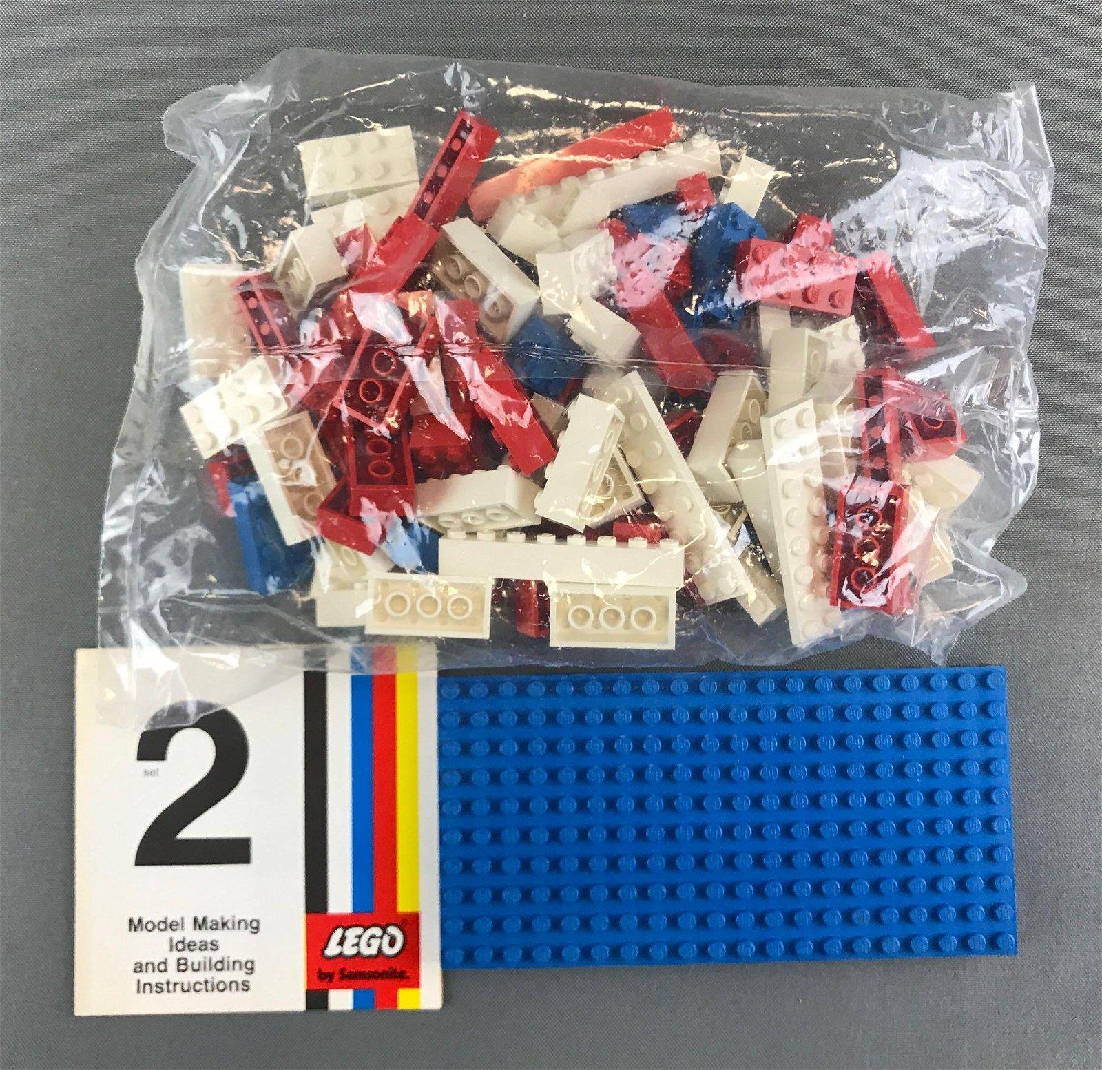 Vintage LEGO set no 2