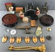 Group of 25 Pieces : Miscellaneous Antique/Vintage