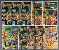 Group of 13 DC Comics Shade The Changing Man comic