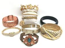 Fashion Bangle and Bracelet Lot