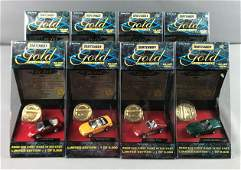 Group of 8 Matchbox Gold Collection Die Cast Vehicles