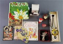Group of Vintage Christmas Items