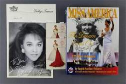 """Signed Miss America Collection: Signatures and """"Miss"""