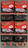 Group of 4 Hot Wheels Red Line Club Classic 1957 T-Bird