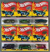Group of 6 Hot Wheels Red Line Club die-cast vehicles