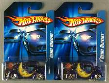 Group of 2 Hot Wheels Dairy Delivery die-cast vehicles