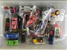 Group of 40+ assorted Hot Wheels die-cast vehicles