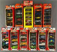 Group of 11 Matchbox 5-piece die-cast vehicle gift sets