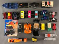 Group of 20 assorted toy vehiclessome diecast