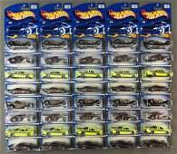 Group of 40 Hot Wheels Skin Deep Series diecast