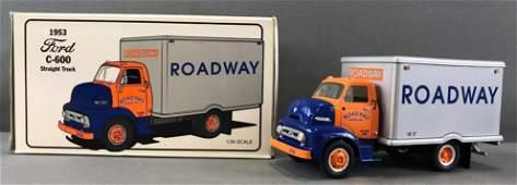 First Gear Roadway die-cast truck in original packaging