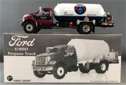 First Gear die-cast propane truck in original packaging