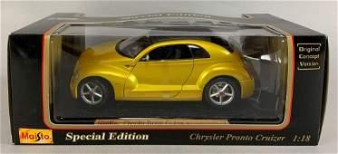 Maisto Special Edition Chrysler Pronto Cruizer Die-Cast