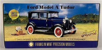 The Franklin Mint Limited Edition Ford Model A Tudor