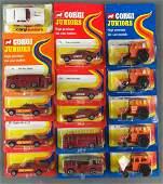 Group of 15 Corgi Junior die-cast vehicles in original