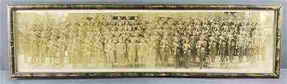 Framed company K 39th Infantry photograph