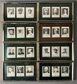 WW1 & WW2 Group of 8 Framed Military Headshots
