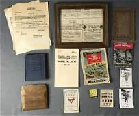 WW1 & WW2 Group of Military Items