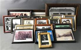 Large Group of Framed Items