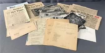 WW2 Era Military Ephemera