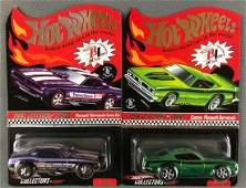 Group of 2 Hot Wheels Red Line Club die-cast vehicles