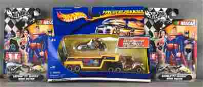Group of 3 Hot Wheels diecast vehicles set in