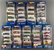 Group of 9 assorted Hot Wheels die-cast vehicle gift