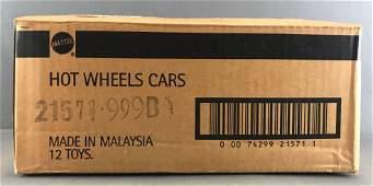 Full shipping box of Hot Wheels Final Run diecast