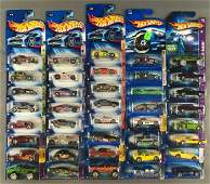Group of 40 Assorted Hot Wheels Die Cast Vehicles