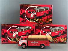 Group of 3 First Gear Ace Hardware die-cast vehicles in