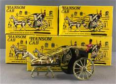 Group of 6 Budgie Models No 100 Hansom Cab diecast