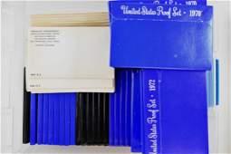 Huge Group of (236 ) Proof Sets & (20 ) Mint Sets