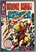 Marvel Comics Iron Man and SubMariner No 1 Comic Book