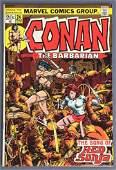 Marvel Comics Conan The Barbarian No. 24 Comic Book