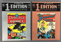Group of 2 Whiz Comics DC Comics Famous First Editions