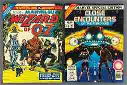 Group of 2 Marvel  DC Comics Assorted Treasury Comic