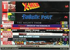 Group of 10 Plus Assorted Graphic Novels
