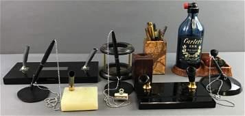 Vintage Desk Items Fountain Pens