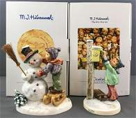 Group of 2 Goebel M.I. Hummel figurines in original