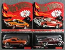 Group of 2 Hot Wheels Red Line Club 2004 sELECTIONs