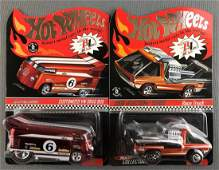 Group of 2 Hot Wheels Red Line Club die-cast vehicles