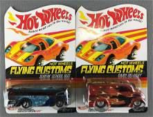 Group of 2 Hot Wheels Flying Customs die-cast vehicles