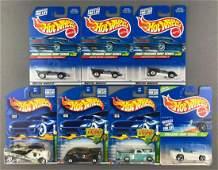 Group of 7 Hot Wheels Treasure Hunt die-cast vehicles