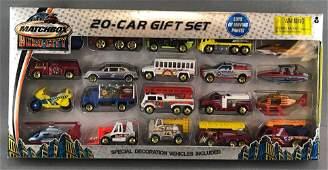 Matchbox Hero City 20 piece die-cast vehicle gift set