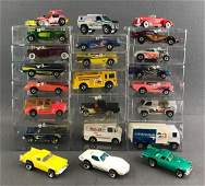 Group of 23 assorted Hot Wheels die-cast vehicles