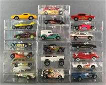 Group of 20 assorted Hot Wheels die-cast vehicles