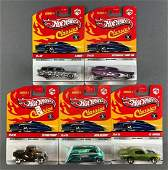 Group of 5 Hot Wheels Classics Series 5 diecast