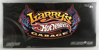 Hot Wheels Larrys Garage diecast vehicle set in